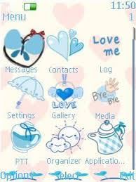 nokia 206 cute themes free nokia 7230 sweet love software download in themes wallpapers