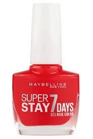 superstay 7 days gel nail polish maybelline