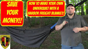 save your money make your own underquilt from a harbor freight