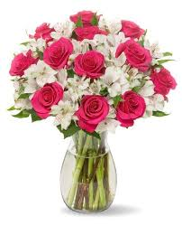 How To Design Flowers In A Vase Amazon Com Benchmark Bouquets Big Blooms With Vase Grocery