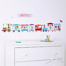 28 personalised childrens wall stickers personalised wall personalised childrens wall stickers personalised children s circus train wall sticker by