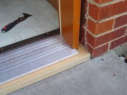 How To Install An Exterior Door Frame Door Door Metal Exterior Frame Replacement Sealing