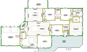large luxury house plans one story luxury home plans large single house plans 44224