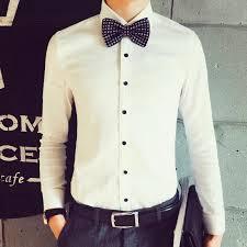dress shirts groom shirt designer 2016 men shirts long sleeve