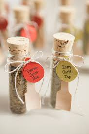 wedding favors diy make your own adorable spice dip mix wedding favors