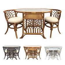 Wicker Bistro Chairs Rattan Wicker Bistro Dinning Breakfast Set Federico Oval Table 2