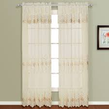 Sheer Curtains With Valance Sheer Curtains Valances Door Panels Shopbedding