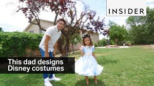 halloween costumes for dad and son this dad designs the most adorable disney costumes for his kids