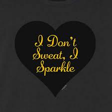 i don t sweat i sparkle unbreakable kimmy schmidt i don t sweat i sparkle tank top