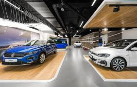 design mode volkswagen home by mode lina warsaw poland retail design