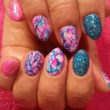 barbie nails full set with art yelp