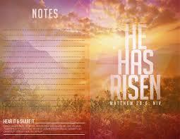 Church Programs Template Rise Again Easter Service Church Program A Fill In The Blank