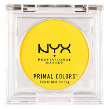 Pale Yellow Color Names Primal Colors Nyx Professional Makeup