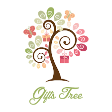 gifts tree and leaves logo design gallery inspiration logomix