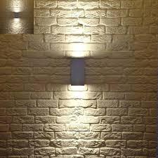 solar retaining wall lights solar light for outside walls wall lights design