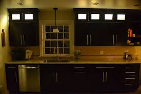 Led Strip Lights In Kitchen by Kitchen Cabinet Lighting Using Warm White Led Strip Lights