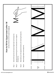 learning the letter m worksheet myteachingstation com