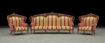 Wooden Carving Furniture Sofa Max Armchair Sofa Ethnic Carved