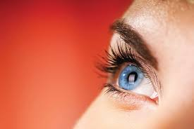 eye pain from light neuronal activity in the visual cortex controlled by both where the