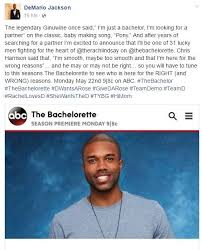 Bachelorette Meme - the bachelorette rachel lindsay s bachelors revealed national