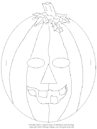 free printable jack o lantern coloring pages pictures of jack o lanterns coloring home