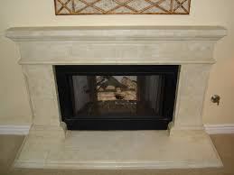 awesome faux stone fireplace faux designs walls contemporary