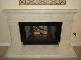 stone fireplace stone veneer surround faux wall hearth ideas