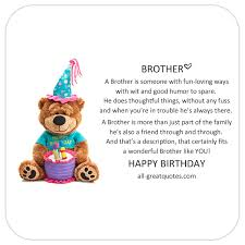 share birthday cards for brother happy birthday brother