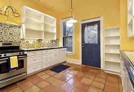 blue kitchen cabinets and yellow walls kitchens color color effects make color work for you