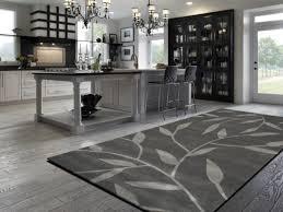 kitchen rugs washable grey hardwood floors trend grey