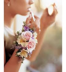bridesmaid corsage usually don t like wrist corsages but do make them when requested
