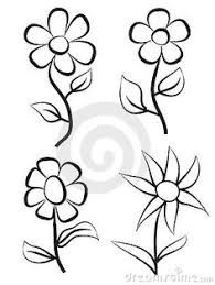 Flower Designs For Drawing Simple Flower Pictures To Draw How To Draw A Flower Easy Step