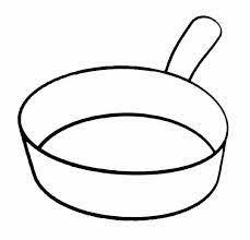 coloriage ustensiles de cuisine dessin poele recherche coloriages recherche
