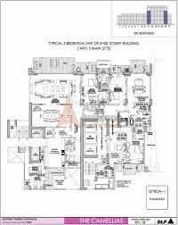 dlf camellias floor plan floorplan in