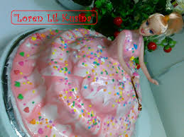 Decoration Of Cake At Home Doll Cake Homemade Youtube
