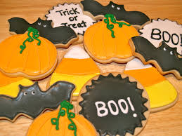 Bat Cookies For Halloween by Sugar Cookies With Royal Icing Happy Halloween The Dessert