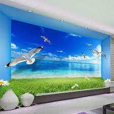 wallpaper biru hijau daerah spasial ekstensi kepribadian dinding mural wallpaper langit
