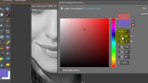 how to turn an image black and white except for one color adobe