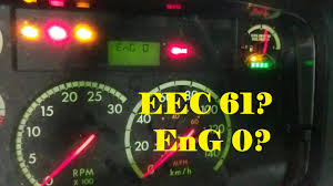 freightliner cascadia warning lights reading fault codes from a freightliner m2 dash youtube