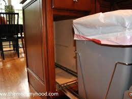 kitchen island trash kitchen island with hidden garbage kitchen trash can storage