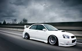 white subaru car sti hd wallpapers group 88