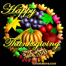 happy thanksgiving animated graphics myspace
