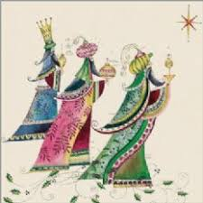 amazon com 16 colorlful we three kings christmas cards 3 wise men