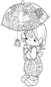 scared spider precious moments coloring pages