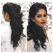 hairstyle for parties for medium tutorial indian party