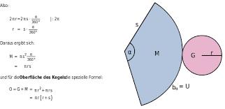 fläche kreis formel körperberechnung bettermarks