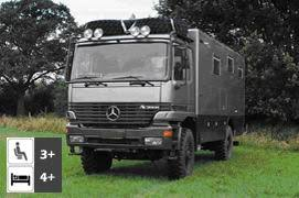 mercedes 4x4 trucks mercedes actros 2035 4x4 expedition truck vehicles