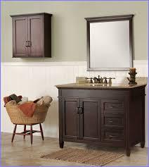 Interesting Bathroom Vanities Bathroom Decor Cool Brown Rectangle - Home depot bathroom vanity lighting