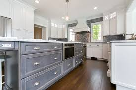 White Blue Kitchen Gray And White Kitchen Interlaken New Jersey By Design Line Kitchens