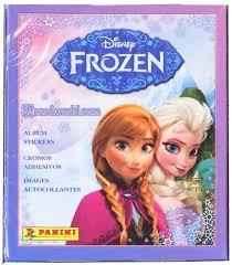 panini disney frozen sticker box 50 sticker packs da card